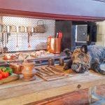 le cucine del castello a vaux le vicomte