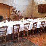 tavolo da pranzo a vaux le vicomte
