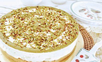 cheesecake al pistacchio ricetta