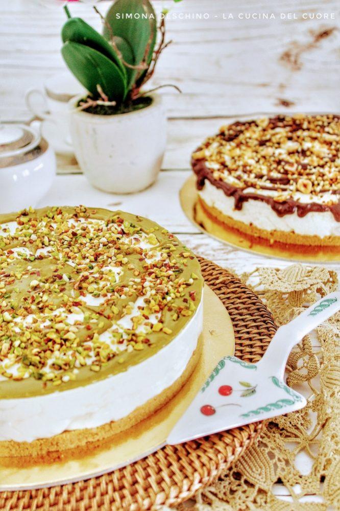 ricetta della cheesecake al pistacchio