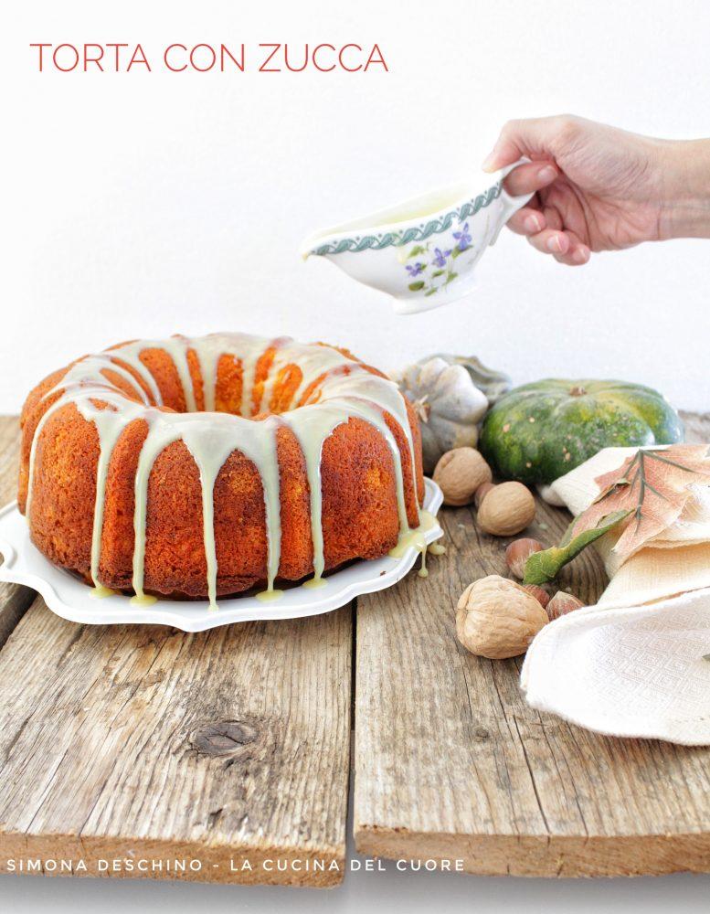 come preparare una torta con zucca