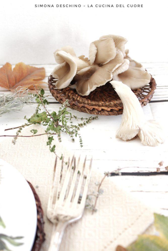 lista ingredienti per il polpettone con i funghi