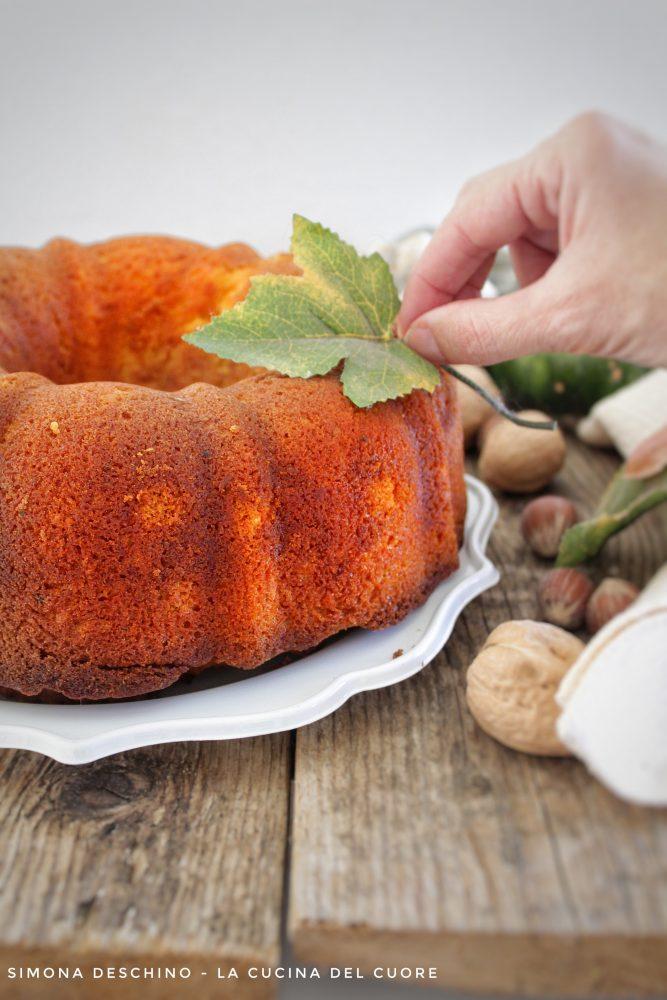 torta con zucca autunnale