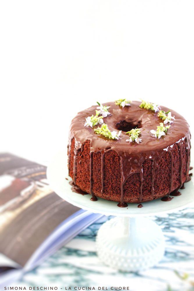 buonissima chiffon cake al cioccolato senza glutine