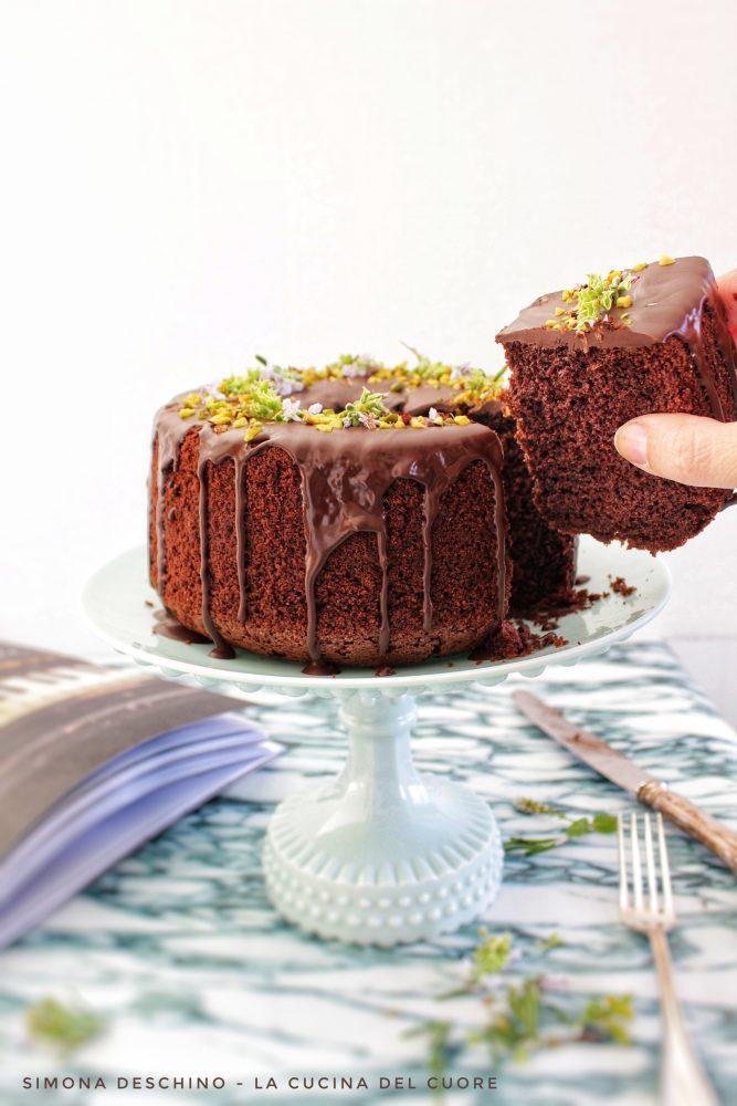 come preparare una chiffon cake al cioccolato