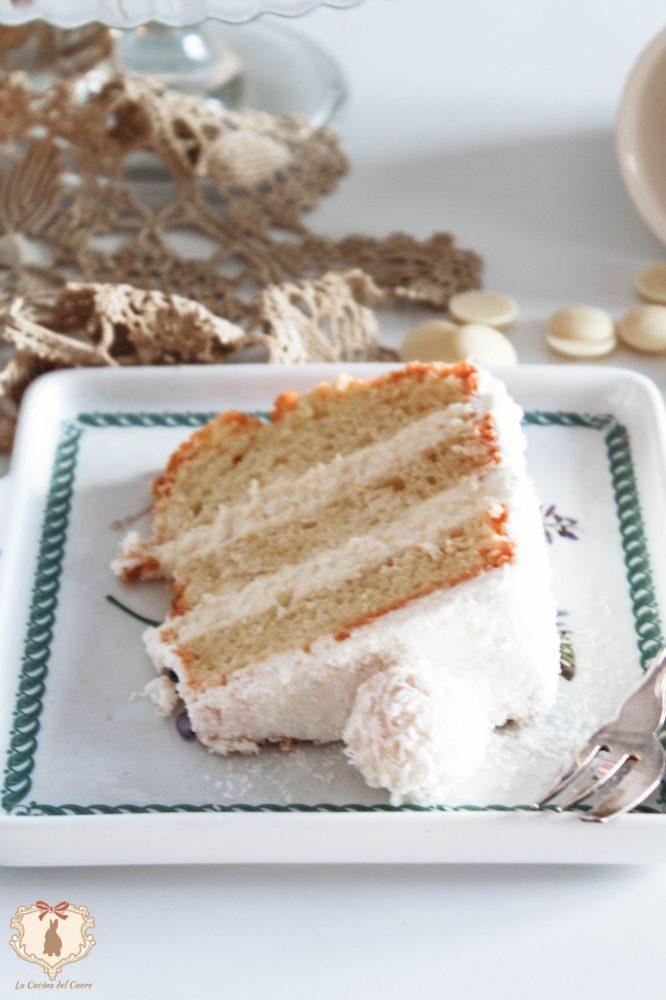 la chiffon cake più golosa del mondo