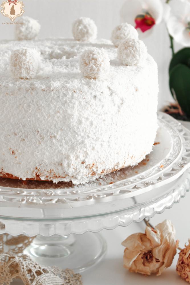 ricetta chiffon cake raffaello