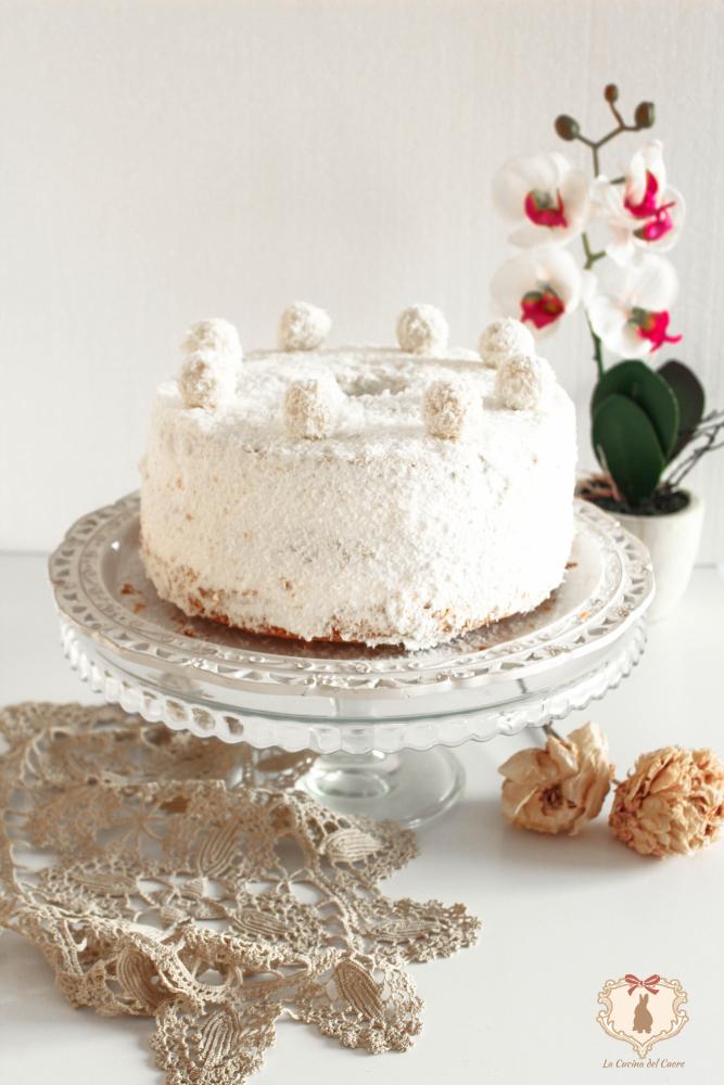 chiffon cake raffaello
