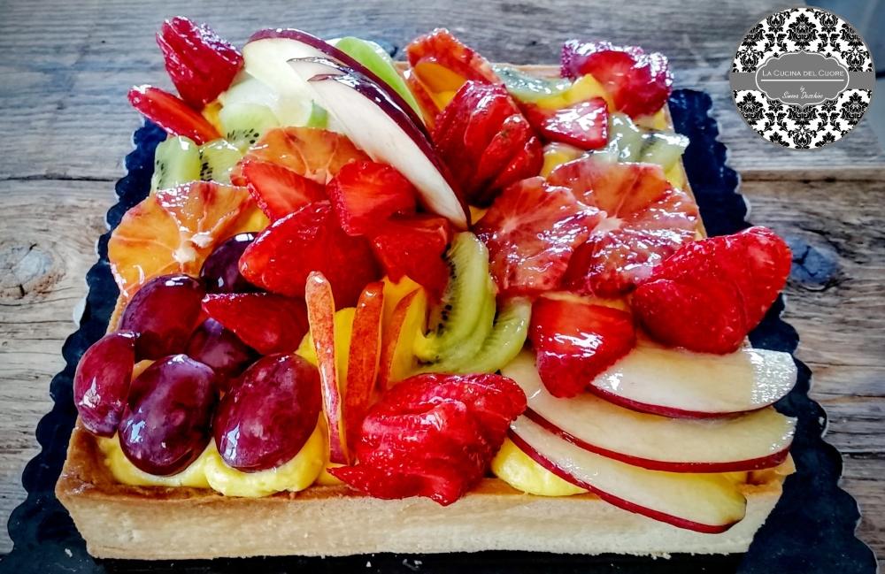 crostata di frutta ricetta