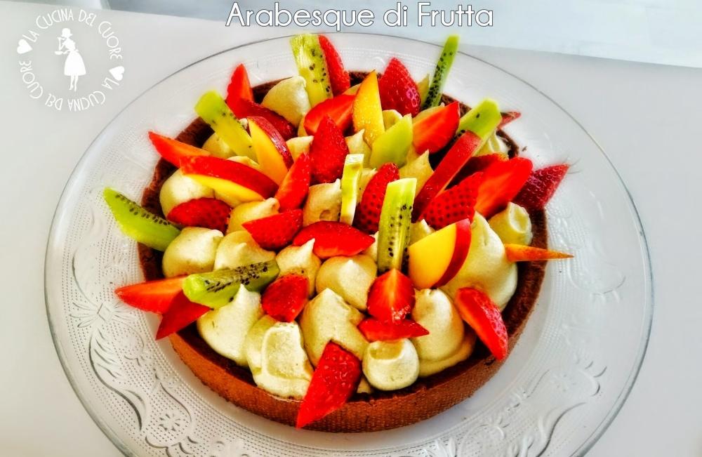 crostata di frutta fresca e di stagione