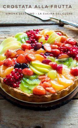 procedimento per la crostata di frutta