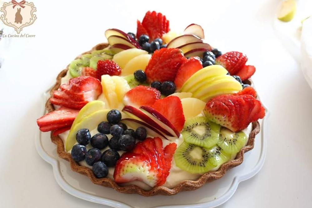 crostata di frutta semplice e veloce
