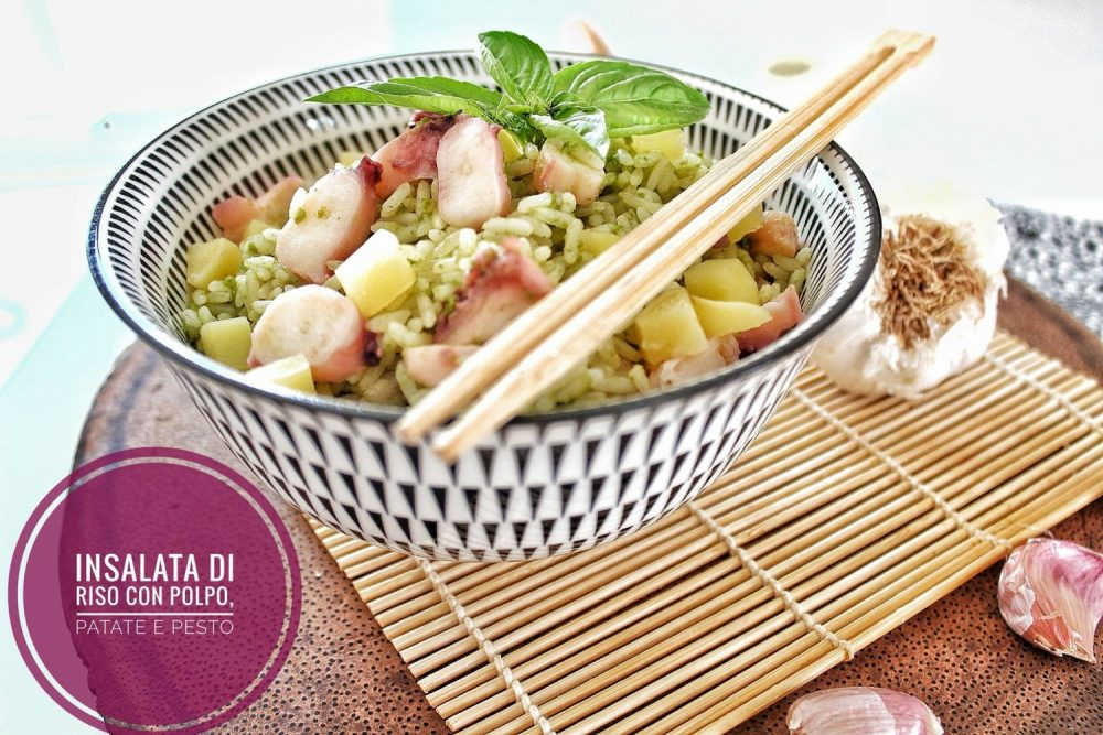 procedimento per una insalata di riso diversa dal solito