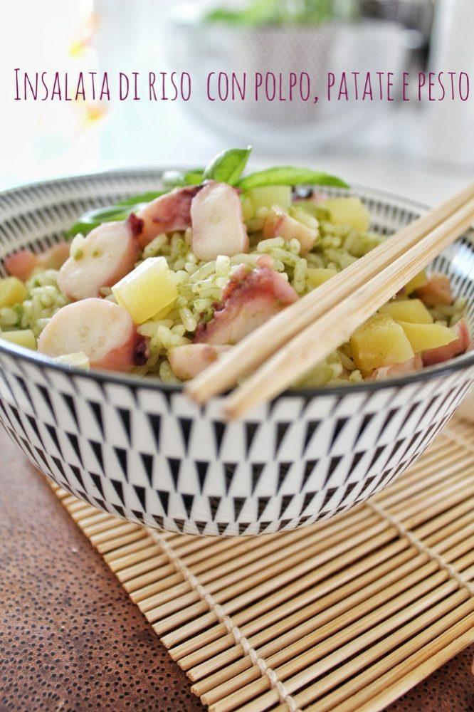ricetta per un'insalata di riso alternativa