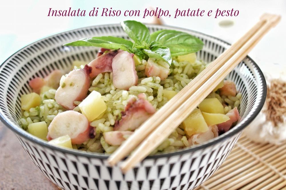 insalata di riso fresca ed estiva