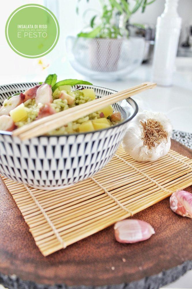 insalata di riso procedimento