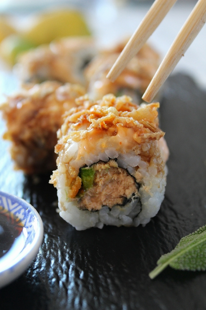 sushi tuna crunch facilissimi
