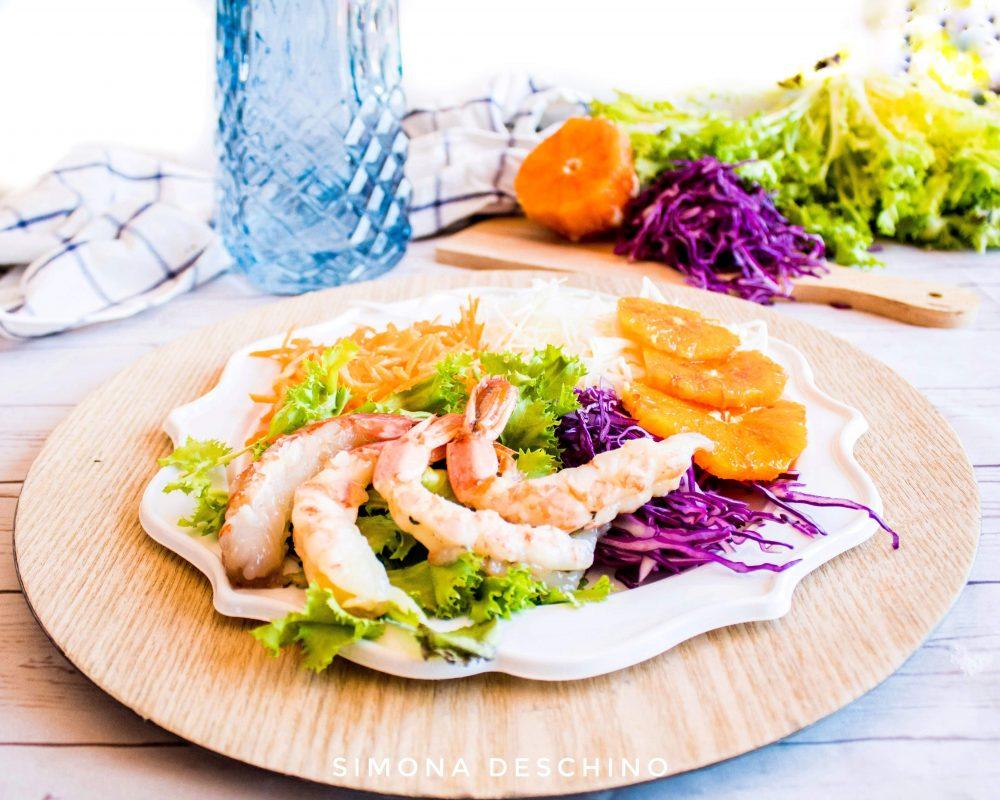 ricetta per l'insalata estiva