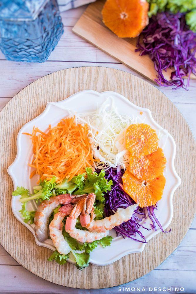 ricetta dell'insalata estiva