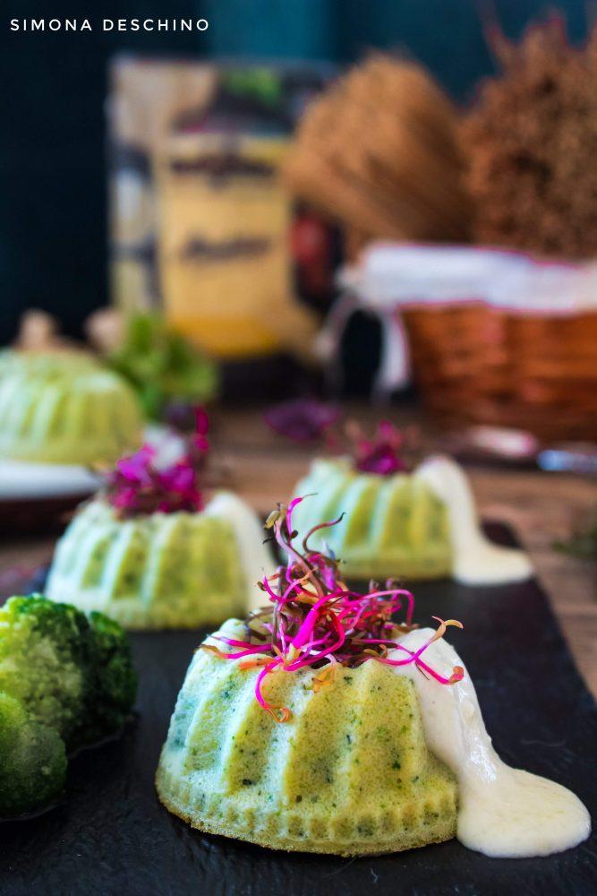 flan di broccoli e zucchine ricetta