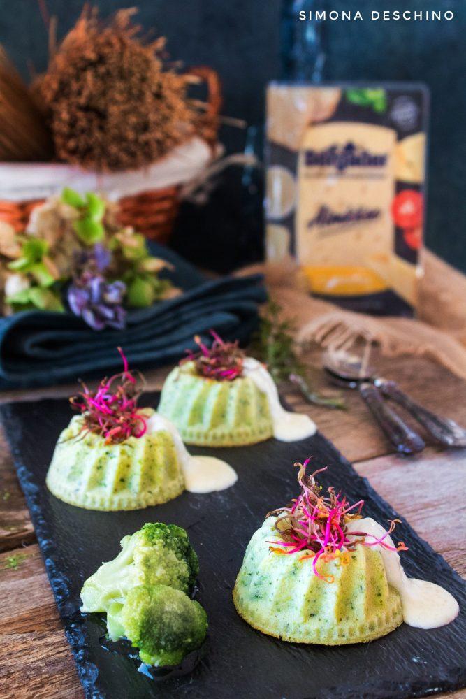Flan di broccoli e zucchine ricetta facile e veloce