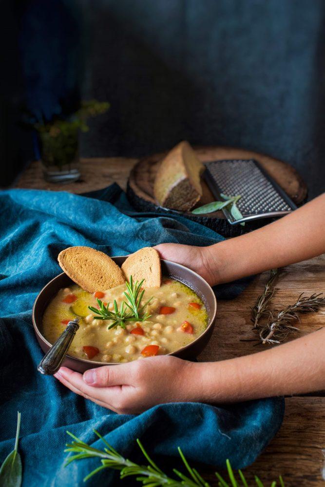 Come preparare la minestra di ceci