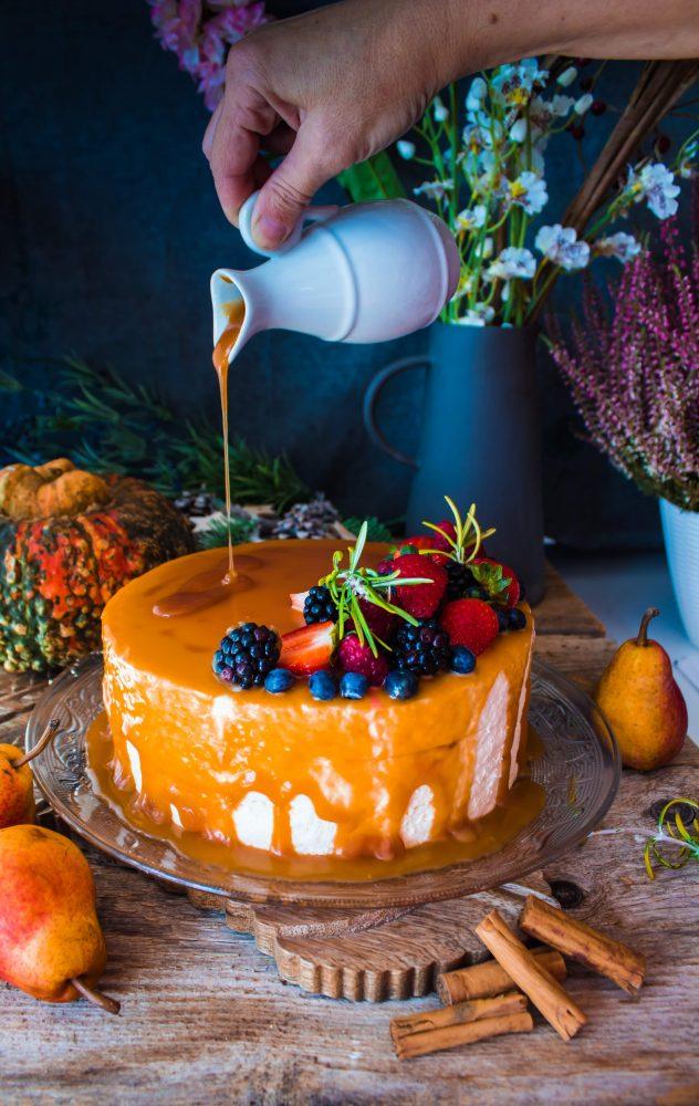 Come preparare la torta di carote e noci