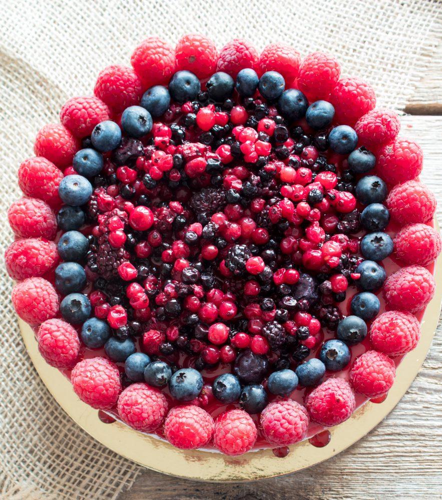Cheesecake ai frutti di bosco ricetta