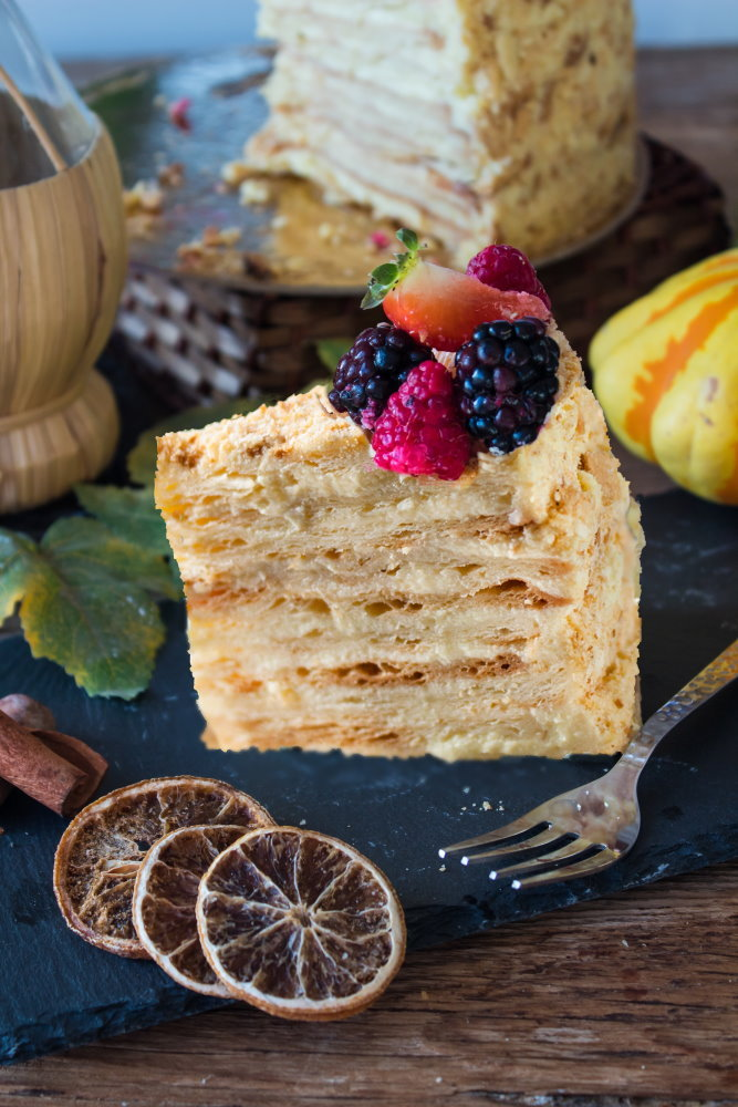 Napoleon Cake ricetta e procedimento
