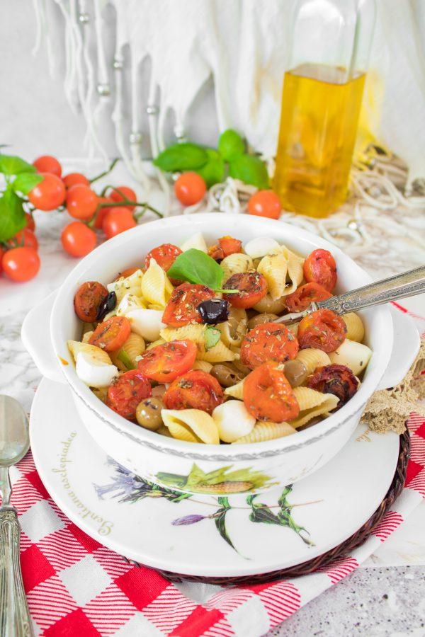 Conchiglie con pomodori confit ricetta