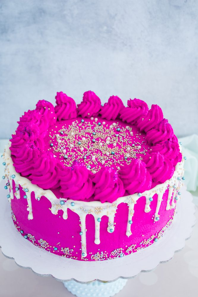 Sprinkles Drip Cake procedimento