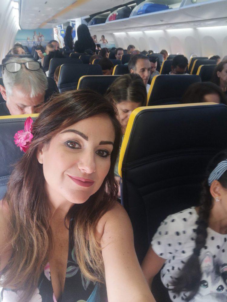 In aereo verso la Slovenia