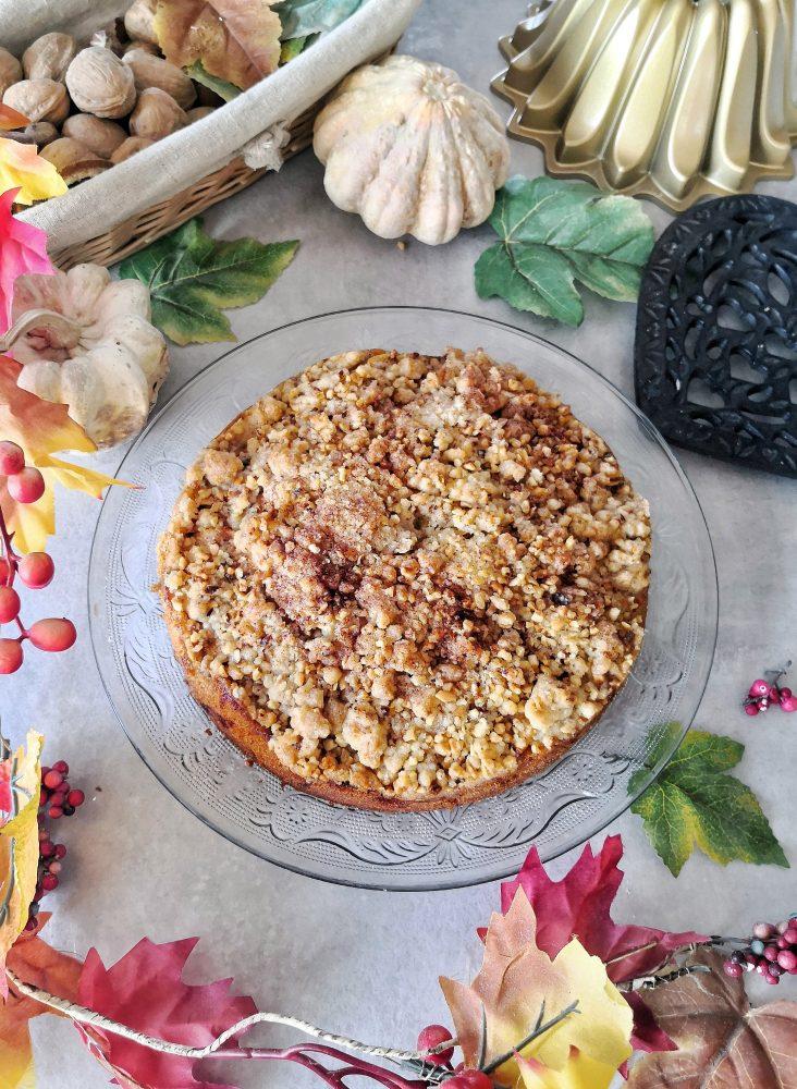 Torta crumble di mele ricetta e procedimento